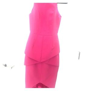 Hero knee length origami dress